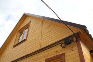 Ввод электричества в дом: Способы ввода — подземный, воздушный