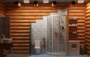 Как сделать душ в деревянном доме своими руками?