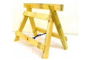 Как изготовить строительные козлы своими руками